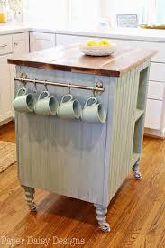 how to build a kitchen island cart paper daisy designs diy kitchen island cart house stuff