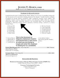 Resume Format With Objective Cover Letter Job Objective Statement For Resume Objectiveresume