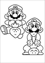 super mario coloring pages u2013 birthday printable