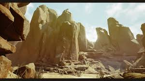 ue4 arid desert environment u2014 polycount