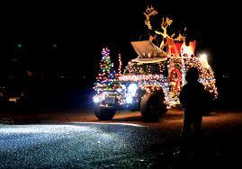 jeep christmas parade westmoreland news montross va northern neck stratford