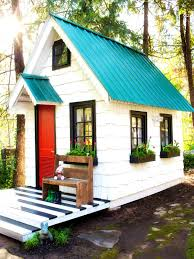 bedroom good looking wooden playhouse shed plans and castle diy