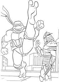 40 ninja turtle coloring images ninja