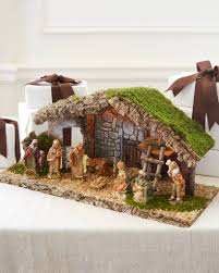 Lighted Outdoor Christmas Nativity Scene by Christmas Decorations On Sale Balsam Hill