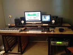 Diy Recording Desk Home Recording Desk Awesome Best Home Studio Setups Images On