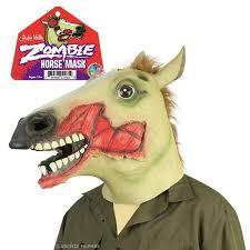 Zombie Mask Zombie Horse Mask Archie Mcphee U0026 Co