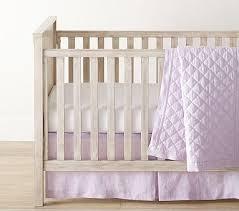Purple Bedding For Cribs Lavender Nursery Bedding Pottery Barn