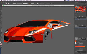 lamborghini car drawing drawing for lamborghini aventador in adobe illustrator on behance
