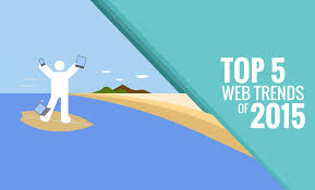 design graphic trends 2015 top 5 web design trends for 2015 infographic digital