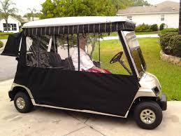 Golf Curtains Show Us A Picture Of Your Golf Cart Page 2 Talk Of The Villages