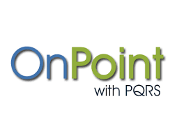 pqrs registries hbma online store products webinars pqrs onpoint with