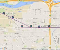 portland light rail map phoenix light rail station locations and map