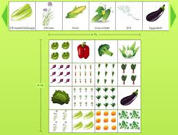 Vegetable Garden Layout Guide Garden Planting Guide Zone Chart Free Worksheets Modern