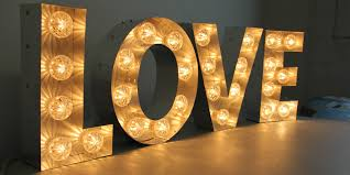 large light up letters illuminated signs light up letters large marquee letters