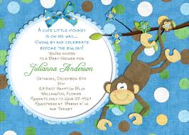 baby shower invitations at party city monkey baby shower invitations best invitations card ideas