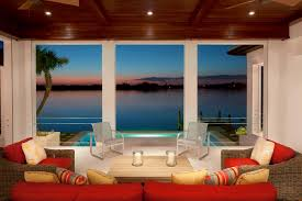 Home Design And Remodeling Watefront Coastal Contemporary Lanai Home Design And Remodeling