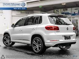 volkswagen tiguan 2016 white new 2017 volkswagen tiguan 4 door sport utility in vancouver bc