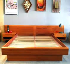 kids bed frame nice black varnished high back headboard modern