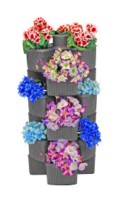 self watering vertical planters amazon com good ideas vvg3 des venetian vertical garden planters