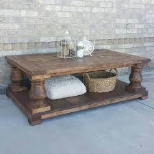 Baluster Coffee Table Long Balustrade Coffee Table Coffee Table