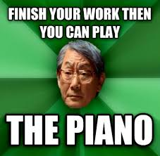 Asian Dad Meme - livememe com high expectations asian father