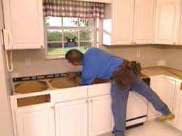 How To Remove A Kitchen Countertop - kitchen how to install a kitchen countertop buildipedia diy