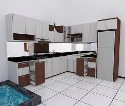 model kitchen model kitchen set modern elegan dapur minimalis idaman pinterest