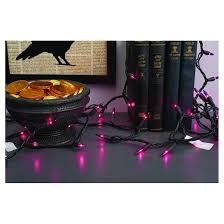 100ct indoor outdoor halloween mini string lights purple hyde