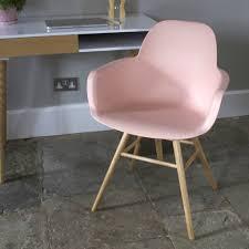 Scandi Chair Scandinavian Blush Pink Dining Chair By Ella James