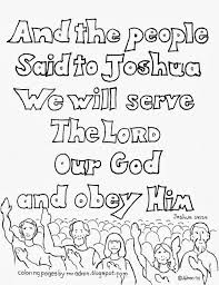 coloring pages for kids by mr adron we will serve the lord free