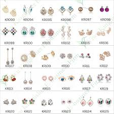 styles of earrings 52 types of earring styles fashion beading techniques all