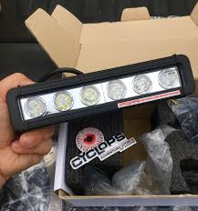led equipped light bar cyclops adventure lighting review cafe racer adv motorcycle podcast
