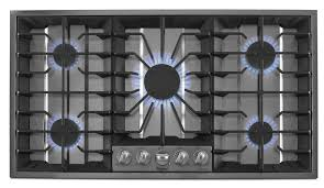 36 Inch Downdraft Electric Cooktop Gold 36 Inch Electric Ceramic Glass Cooktop With Tap Touch