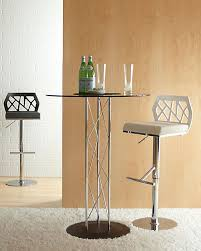 Glass Bar Table And Stools Bar Stools Chairs And Tables Event Solutions
