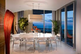 miami decor for modern dining room with new york designers