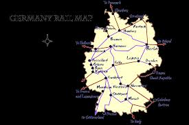 map germay germany rail map and transportation guide