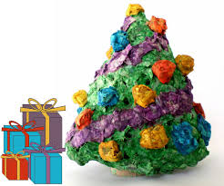 mini paper mache light up tree 8 steps with pictures