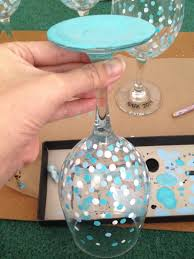 wine glass painting easy hand painted wine glasses sweetkimplicity