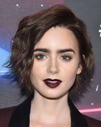 lily collins short hairstyles lily collins hair stylebistro