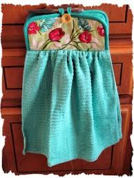 kitchen towel craft ideas this would stop the towel on the floor problem that i consistently