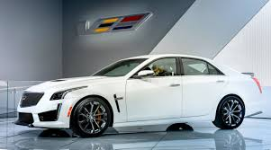 2016 cadillac cts v crystal white frost edition gm authority
