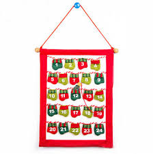 christmas advent calendar 2017 felt fabric christmas advent calendar with pockets door