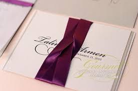 Wedding Invitations Inserts Talin Armen Wedding Invitation In Two Languages Gourmet