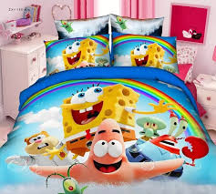Spongebob Bedding Sets Spongebob Bedding Sets For Boy S Children S Bedroom Decor