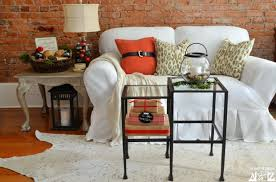 pottery barn nesting tables pottery barn pinterior decorating challenge home stories a to z