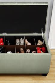 bedroombench amazon best images about shoe storage ottoman bench