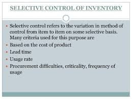 of inventory inventory management