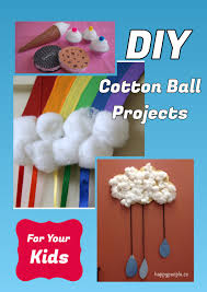 diy cotton ball projects for your kids