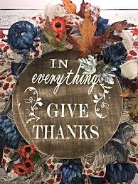 fall wreath thanksgiving wreath give thanks fall thanksgiving