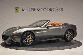 Ferrari California Gray - 2015 ferrari california t stock 4331 for sale near greenwich ct